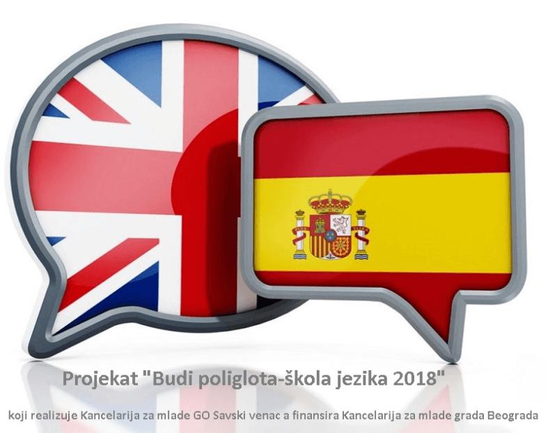 Budi poliglota - škola jezika 2018