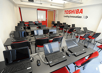 Toshiba laboratorija