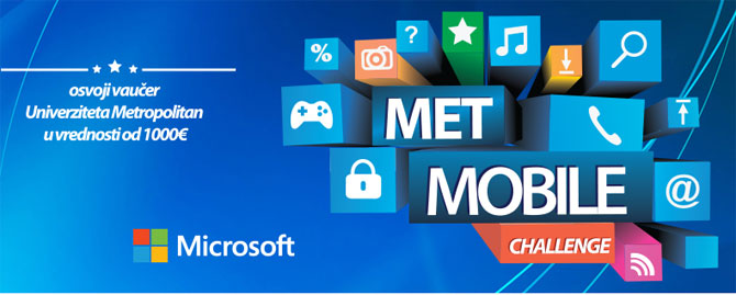 Prijavite se na Met Mobile Challenge