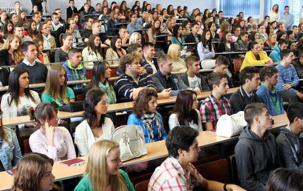Upis studenata na Ekonomski fakultet u Subotici