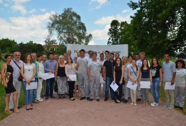Nagrade Grupacije FKA najboljim maturantima i diplomcima