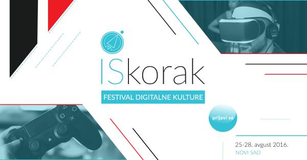 Besplatne radionice na festivalu digitalne kulture Iskorak