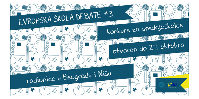 Poziv za srednjoškolce: Evropska škola debate