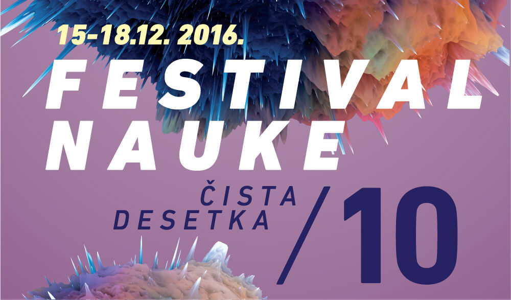 Deseti Festival nauke od 15. do 18. decembra na Beogradskom sajmu