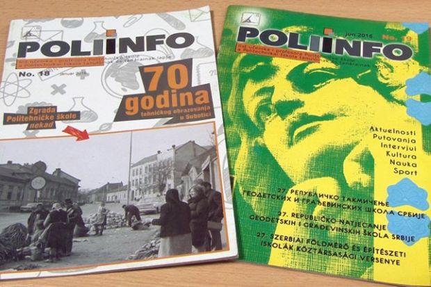 Školski časopis Poliinfo osvojio III nagradu