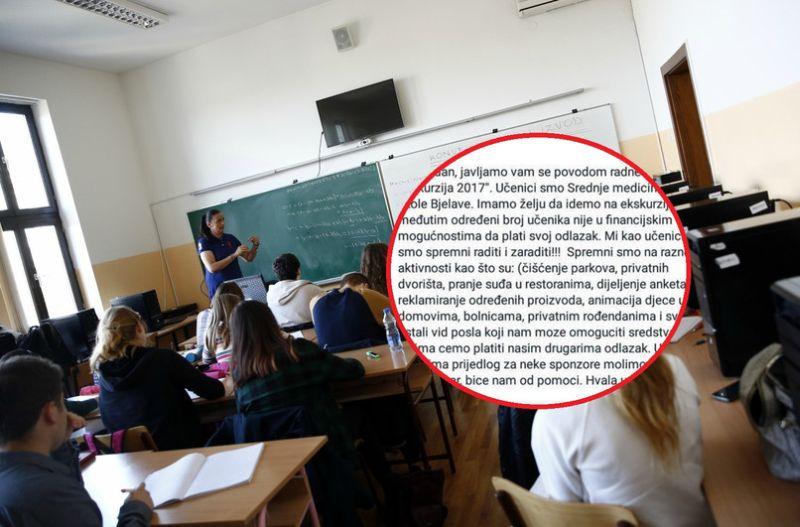 Bravo! Srednjoškolci traže posao da bi drugarima iz razreda platili ekskurziju