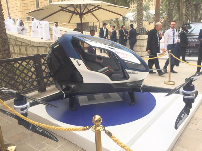 Putnički dron testiran u Dubaiju