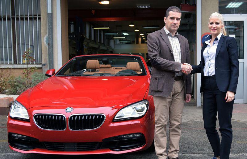 Studenti dobili novo učilo - BMW Serije 6