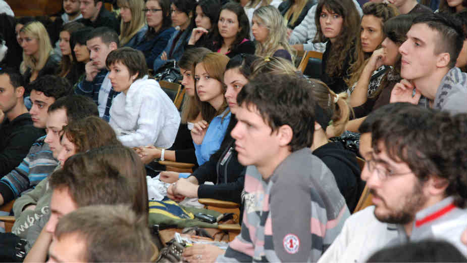 Akcija Budi student 1 dan na PMF-u