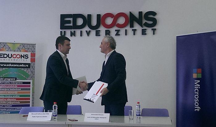 Educons i Microsoft saradnja