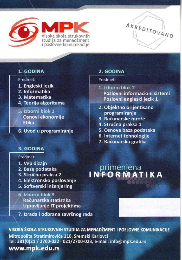 Primenjena informatika