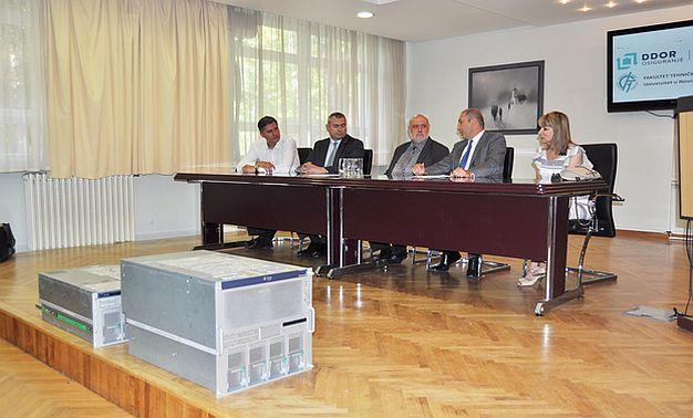 DDOR poklonio Fakultetu tehničkih nauka servere vredne 100.000 evra