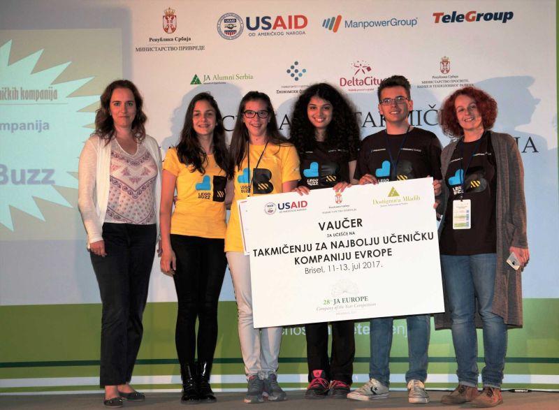 Pobednici takmičenja učeničkih kompanija