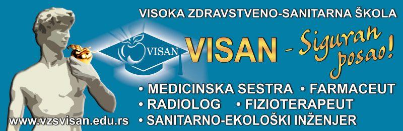 Visoka zdravstveno-sanitarna škola Visan – Vaš korak u budućnost!