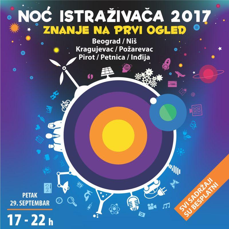 Osam veličanstvenih istraživača za 8. Noć istraživača u Srbiji