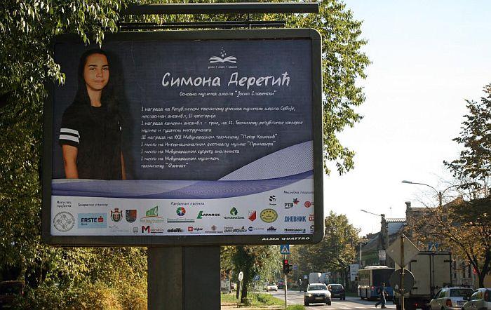 Najbolji novosadski učenici na 30 bilborda širom Novog Sada