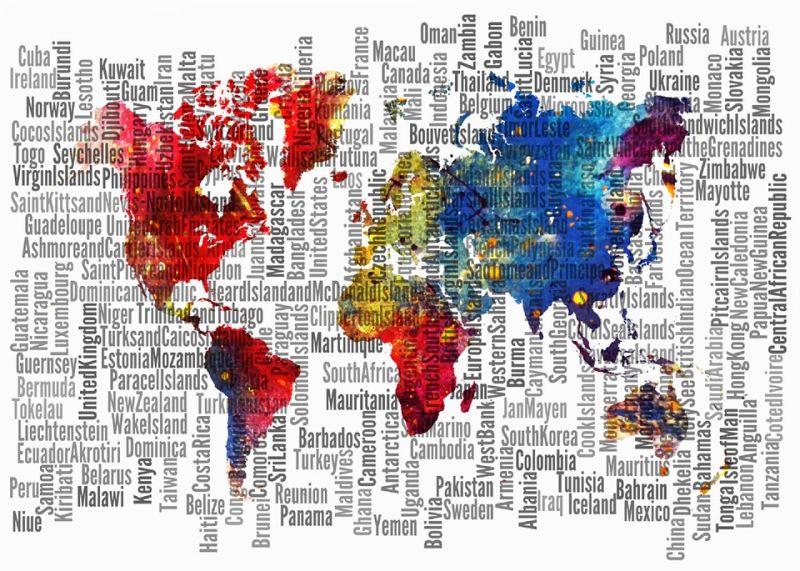 Svaka država na svetu je dobila naziv po jednoj od 4 stvari