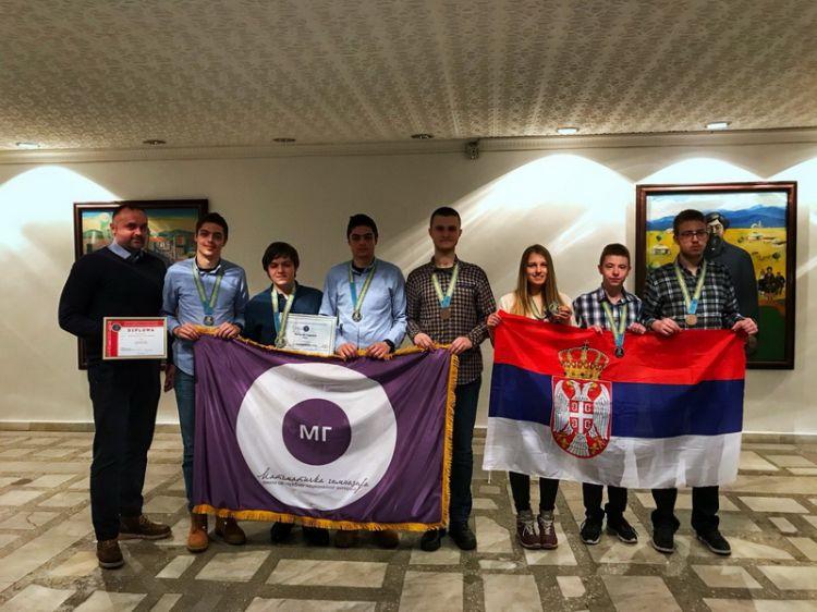 Ponovo najbolji: Đaci Matematičke gimnazije trijumfovali na Olimpijadi u Kazahstanu