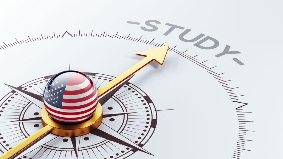 Školovanje u SAD i Velikoj Britaniji