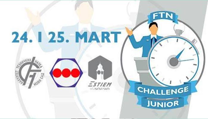 FTN Challenge Junior - Takmičenje za srednjoškolce na FTN