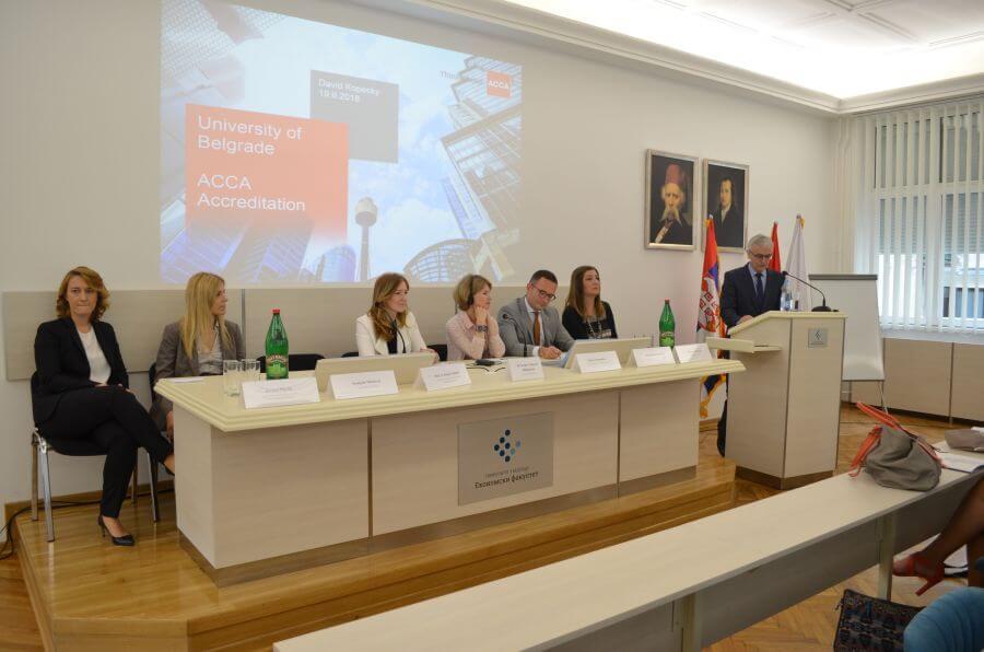 Studenti Ekonomskog fakulteta brže do međunarodne profesionalne ACCA kvalifikacije