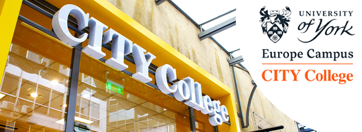 CITY College becomes the first Campus of a top British university in the region:  The University of York Europe Campus